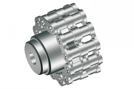 """Chain coupling for RW 240/400/600/800 1-2"""", 16 cogs"""